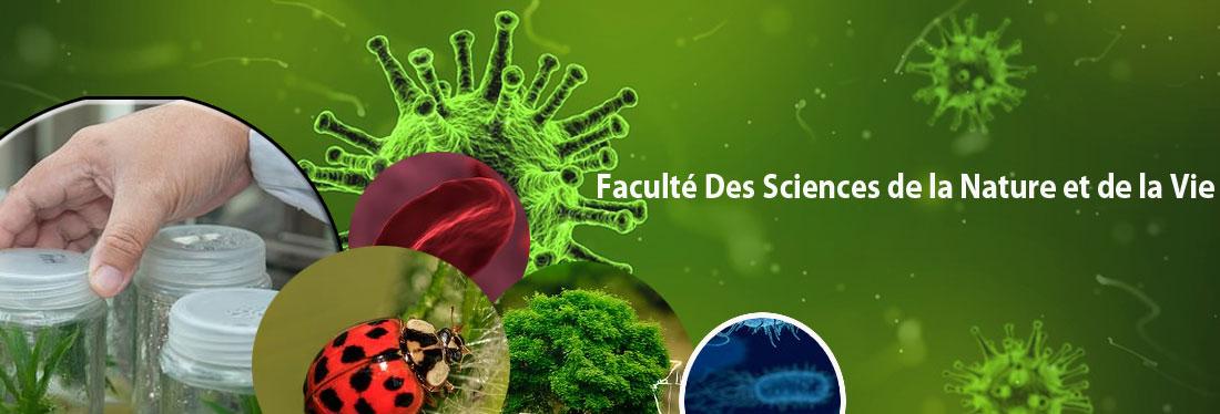 Faculté des Sciences de la Nature et de la Vie